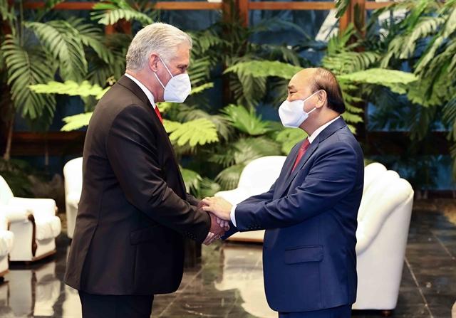 Visit of Vietnamese President to Cuba