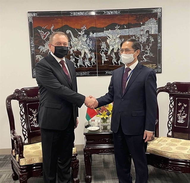 Foreign Minister holds bilateral meetings on sidelines of UN General Assemblys 76th session