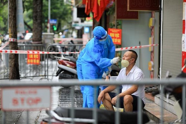 9706 new COVID-19 cases recorded in Việt Nam on Saturday