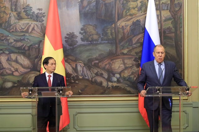 Việt Nam - Russia partnership keeps developing dynamically: FMs