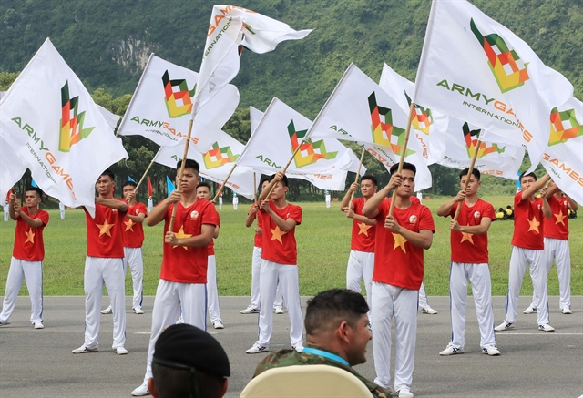 Việt Nam Russia win golds at Army Games 2021