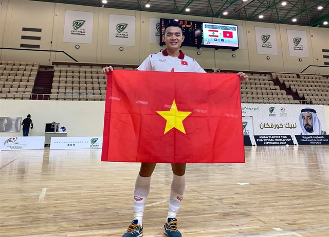 Strikers high hopes forfirst futsal World Cup