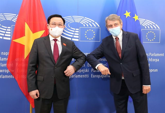 European Parliament sympathises with Việt Nams COVID-19 challenges committed to vaccine support