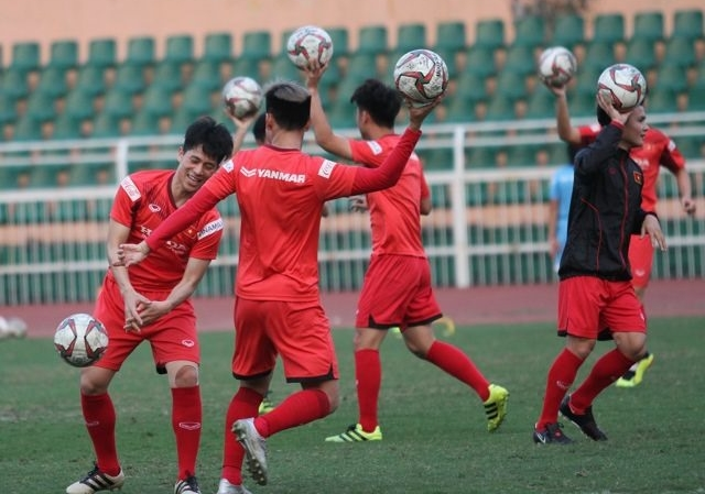 Việt Nam gear up for the AFC U23 Championships