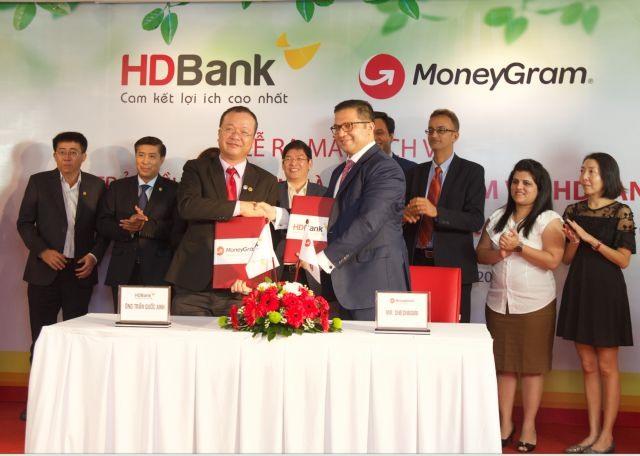 HDBank MoneyGram sign deal for home remittance service