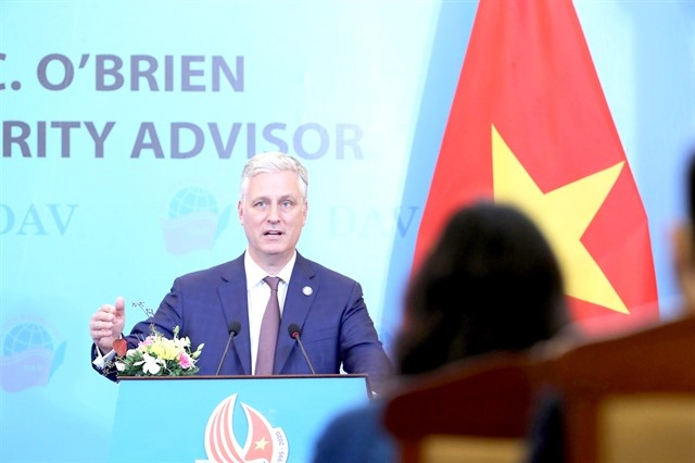 US wants to promote comprehensive partnership with Việt Nam: US security advisor