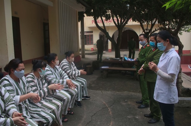 Timely action keeps case count in prison in VN at zero says prison chief