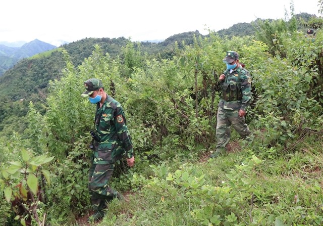 Border guards contribute to COVID-19 fight
