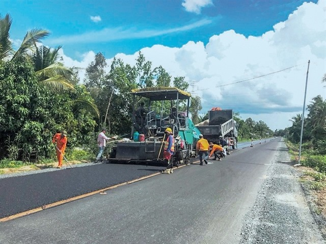 Major transport projects in Mekong Deltato be completed before Tết