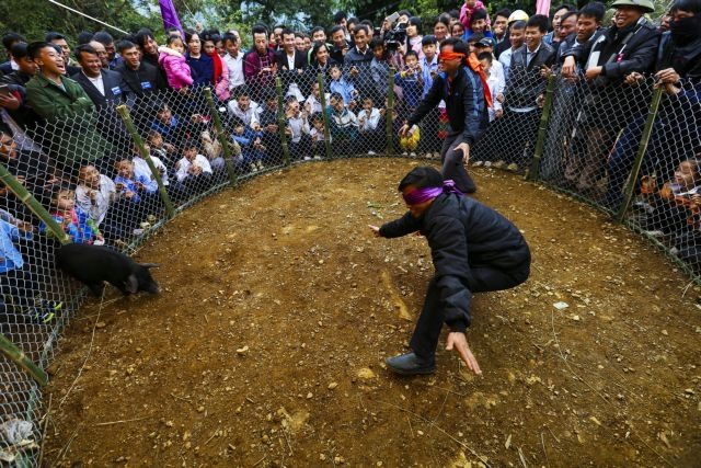 Mông ethnic people celebrate new year
