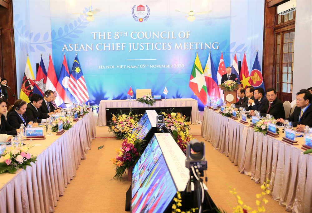 Council of ASEAN Chief Justices holds online meeting