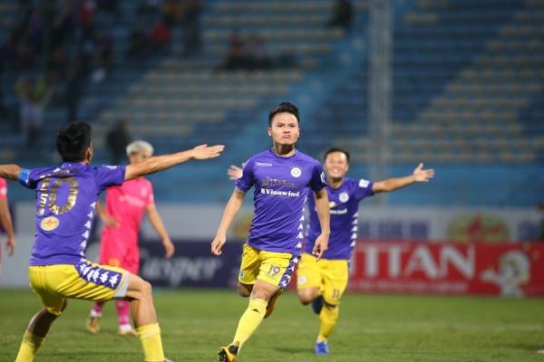 Hà Nội shuts down Sài Gòn FC keepshope alive for championshiptitle