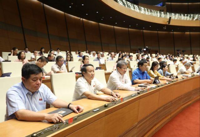 NA deputies pass new amendments to natural disaster dike construction laws.