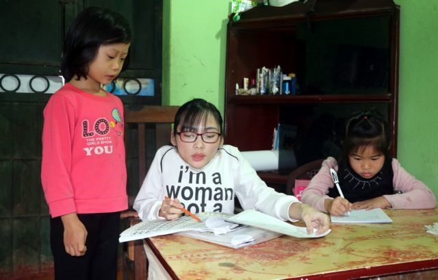 A special tutor for disadvantaged children