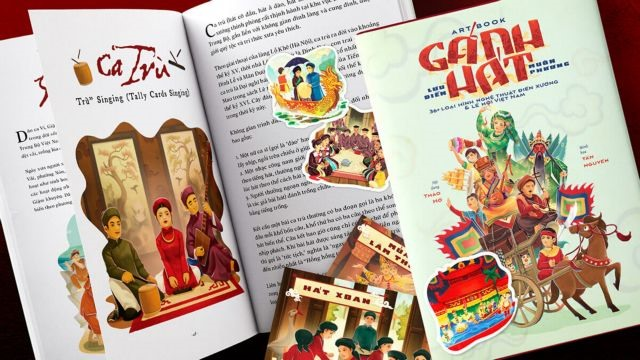 Bilingual art book features Vietnamese folk arts festivals
