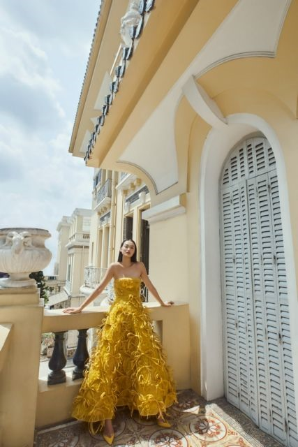 Designer launches new collection