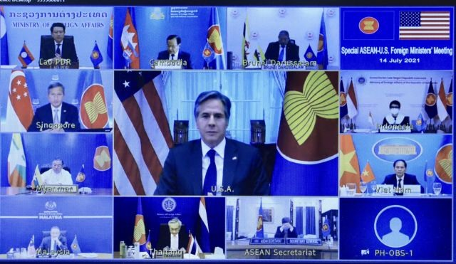 Việt Nam stresses COVID-19 recovery East Sea stability in US-ASEAN foreign ministers meeting