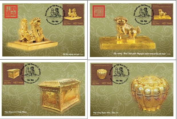 Buddhist symbols golden seals to feature on new stamp issue