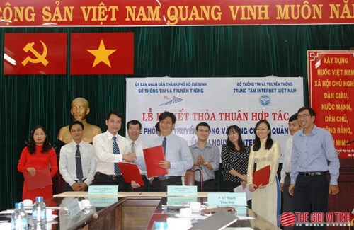 VN web domain usage promoted