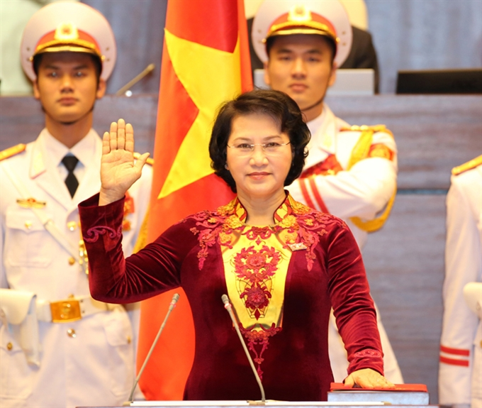 Việt Nam gets first NA chairwoman