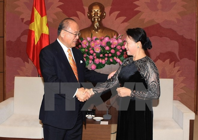 NA Vice-Chairwoman praises ties with Japan joint university project