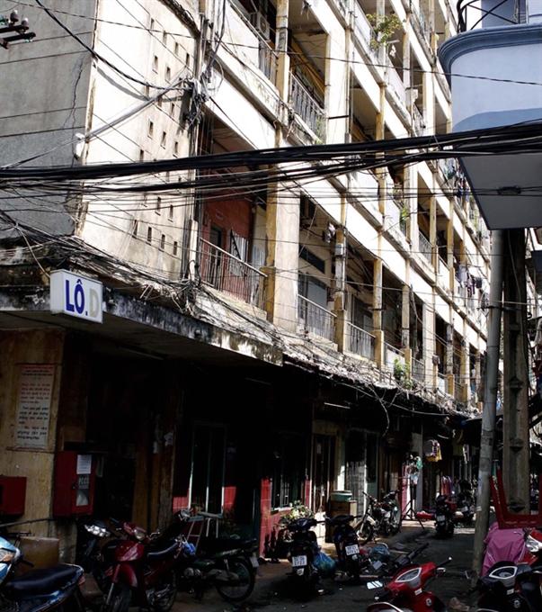 City to demolish 120000sq.m of dilapidated apartment towers