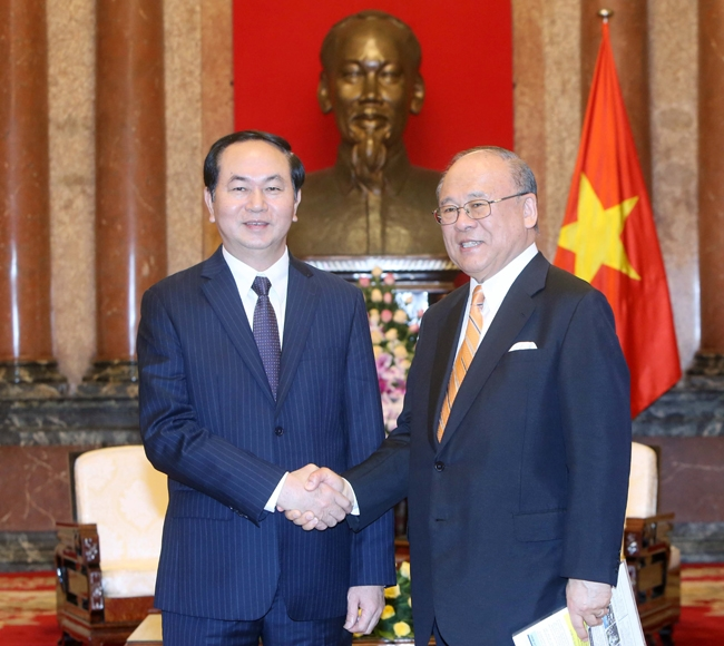 Việt Nam prioritises Japan in foreign policy: President