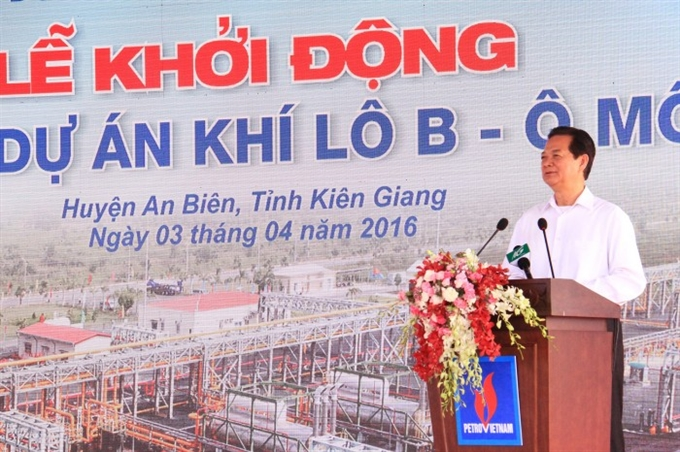 PM launches Kien Giang gas project