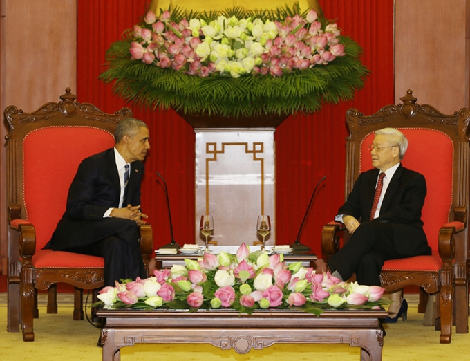 US lifts arms ban on Việt Nam: Obama