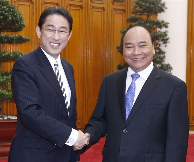 VN Japan build on strong economic ties