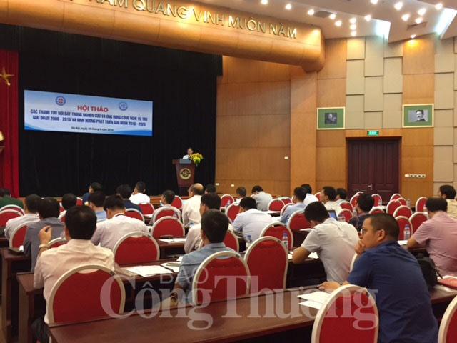 VN developing space technology