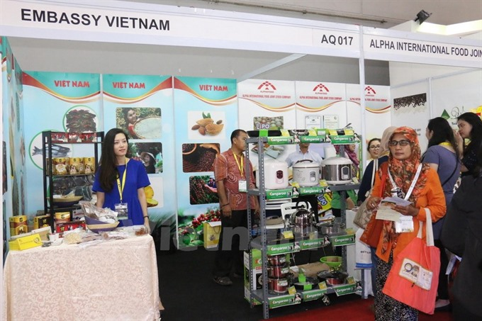 Việt Nam introduces products at Indonesia food expo
