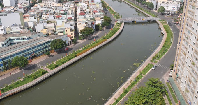 Urbanisation usurps water bodies in HCM Citys south