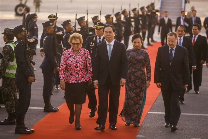 President in Lima for APEC week concludes Cuba visit