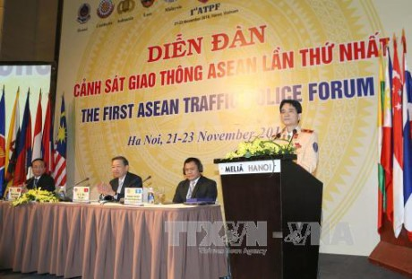 ASEAN traffic cops join forces