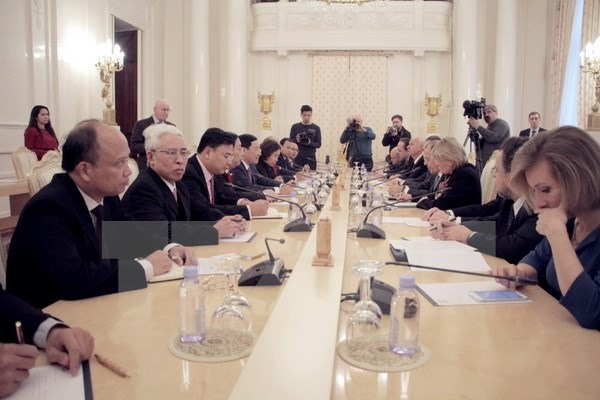 VN Russia FMs agree on oil gas cooperation