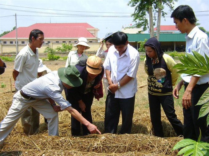 Farmers need practical training