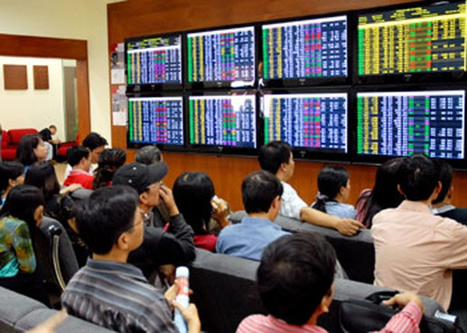 VN shares rise for second day