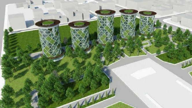 HCM City eyes 9-storey parking lot