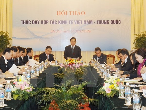 Workshop aims to fuel Việt Nam-China economic co-operation