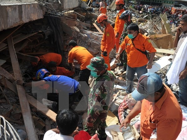 Sympathies sent to Indonesia after quake