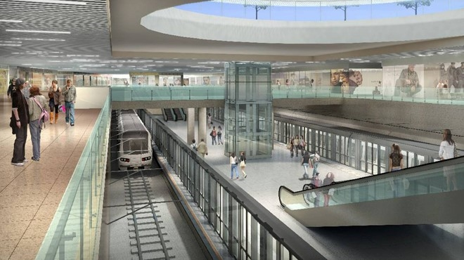 Toshin proposes VNs first underground trading centre
