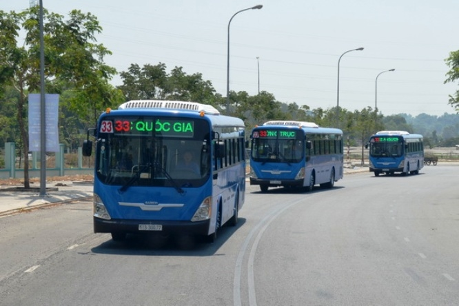 CNG-fuelled buses take to City streets