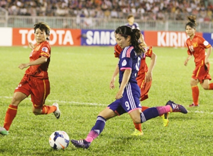 VN suffers heavy defeat against Japan