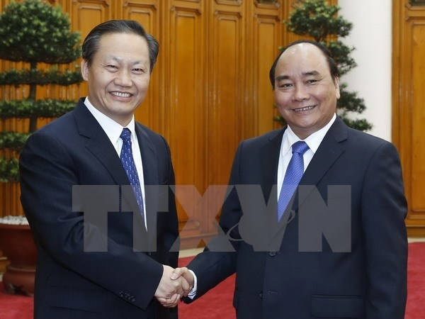 PM welcomes Guizhou party chief