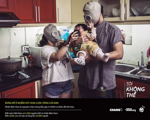 Artists photo campaign a warning about devastating effects of pollution