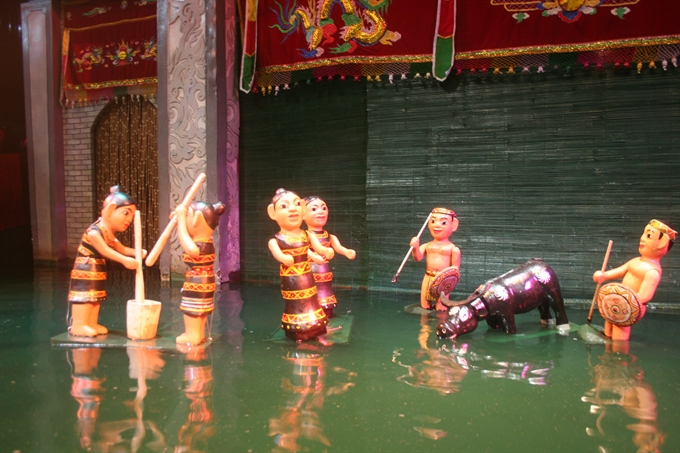 Water puppetry – a must-see show for tourists to Hà Nội