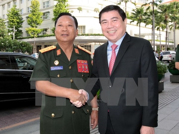 HCM City leads engagements with Lao localities: Lao defence minister