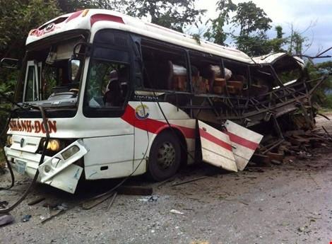 Vietnamese casualties in Lao bus accident