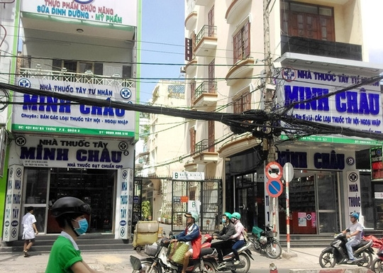Pharmacy charged with smuggling drugs cosmetics